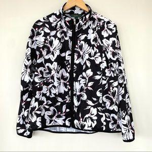 Ralph Lauren windbreaker jacket, adjustable waist